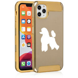 For Apple iPhone 11 Dual Layer Shockproof Hard Case Cover Poodle $14.99