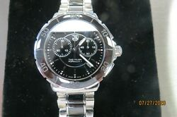 TAG HEUER CAH1210 MENS FORMULA 1 STAINLESS CHRONOGRAPH WATCH SWISS