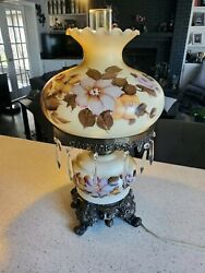 Vintage Gone With The Wind Lamp 22
