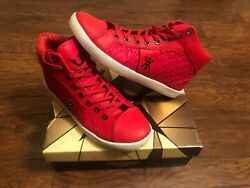 MIGGY MENS HIGH TOP SIZE 10 RED $34.99