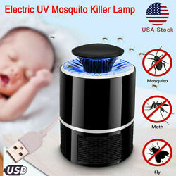 USB Insect Mosquito Fly Killer Bug Electric Zapper UV Indoor Pest Catcher Lamp $9.99