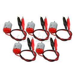 5Pcs 25x20x15mm 3V 16500rpm Brushed Mini Motors with Wire Connector $8.33