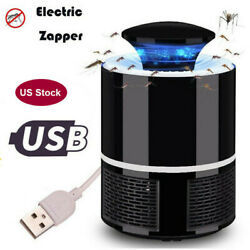 USB Indoor Mosquito Insect Killer UV LED Light Fly Bug Zapper Trap Pest Catcher $5.50
