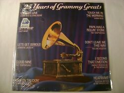Various Artists 25 Years of Grammy Greats LP Sealed $24.99