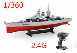 RC Ready to Run 2.4G 1 360 28quot; German Bismarck Military Battleship Warship Boat C $139.99