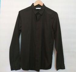 Uniqlo x Lemaire Hidden Placket US small dress shirt mens like COS $18.00