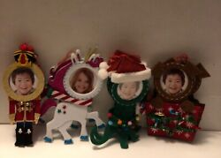 Lot Of 8 Variety Holiday Felt Picture Ornaments NEW $24.99