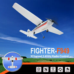 WLtoys F949 CESSNA 182 2.4G 3CH RC RTF Airplane Aircraft Fixed Wing Plane HU $64.98
