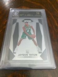 2017 Panini Prizm Jayson Tatum RC BGS 10 Black Label 4x10 POP 3 $14995.00