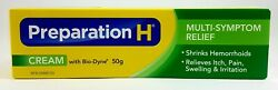 PREPARATION H CREAM WITH BIO DYNE 50G CANADIAN SHIPS FROM USA $20.97