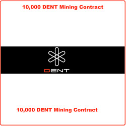 10000 Dent (DENT) CRYPTO MINING-CONTRACT ( 10000 DENT ) Crypto Currency $6.99