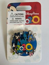 2020 Character WDW Spinner Pin Mickey Minnie Goofy Donald Disney Parks $12.99