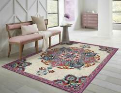 Modern Area Rugs 8x10 Blue 5x8 Floor Carpet Purple 5x7 Rugs for Living Room $99.98