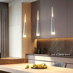 Warm white 3 Heads Cone led chandelier Light Ceiling Pendant Dining Room new $60.06