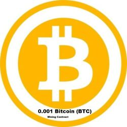 Mining Contract 1 Hour bitcoin Processing Speed TH s 0.001 BTC $15.37