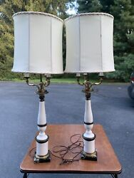 Hollywood Regency style Vintage lamps $600.00