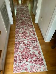 Toile De Jouy Kravet House Party Red Toile by House n Home Fabric 3 yds amp; 12quot; $59.00