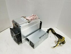 Bitmain Antminer D3 19.3G with APW3 PSU ASIC Dash Miner $25.00