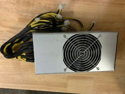 Antminer Bitmain APW5 psu 2600W 12V Power Supply 20x plugs for r4 s9 l3 z9 rare $39.00