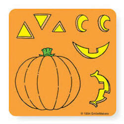 25 Make Your Own Jack o lantern Stickers Party Favors Birthday Pumpkin $3.35
