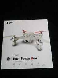 Hubsan First Person View mini Quadcopter FPV FOR PARTS 1 BAD MOTOR CONNECTION $80.40