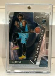 2019 20 Prizm JA MORANT Instant Impact Rookie Grizzlies Mint HOT One Touch $19.99