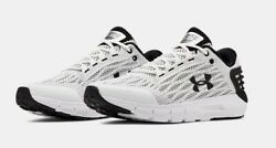 UNDER ARMOUR SNEAKER UA CHARGED ROGUE MEN#x27;S RUNNING SHOES WHITE W BLACK $84.99