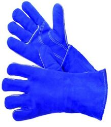 1 PR WELDING GLOVES FULL WELTED amp; LINED IN HIGH GRADE SHOULDER SPLIT COWHIDE L $8.99