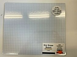 10quot; x 12quot; double sided dry erase board blank graph student classroom homeschoo1 $6.99