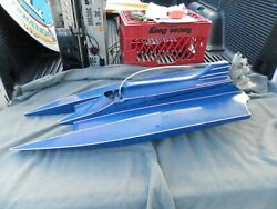 RC Nitro Hydroplane Boat With Motor Parts $375.00