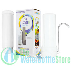 New Wave Enviro Premium 10 Stage Countertop Filter System Home Filtration $108.88