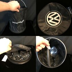 VW Volkswagen Drive Gear Black Collapsible Bag with Handle and Case $9.99
