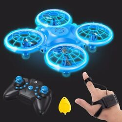 Dragon Touch DK01 Mini Drones for Kids Multiple Remote Controls Hand Operated $36.99