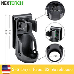 NEXTORCH 360° Tactical Flashlight Holster Pouch Angle For 1quot; 1.25quot; Torch Holder $19.84