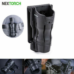 NEXTORCH Pouch Angle Rotatable Duable Belt Holder Tactical Flashlight Holster $15.99