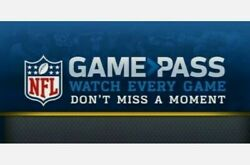 Code for NFL Game Pass 2020 21 $99.99 Value Watch Football Replays $24.50