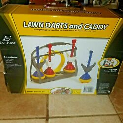Lawn Darts Set Caddy Garden Outdoor Games Kids Toss Play Kit Sports Family Toy $35.00