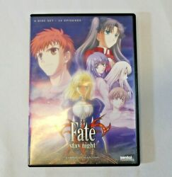 Fate Stay Night: TV Complete Collection DVD 2013 4 Disc Set anime $8.00