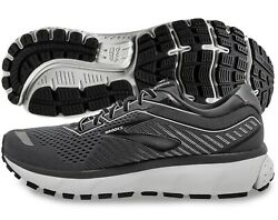 Brooks Ghost 12 Mens Shoe Black Pearl Oyster Sizes 9 D New In Box $95.95