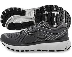 Brooks Ghost 12 Mens Shoe Black Pearl Oyster multiple sizes New In Box $95.95