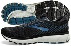 Brooks Ghost 12 Mens Shoe Black Grey Stellar multiple sizes New In Box $95.95
