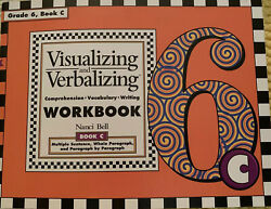 NEW Visualizing amp; Verbalizing Comprehension Workbook Grade 6 Book C $12.00
