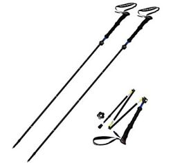Sterling Endurance Trekking Poles Collapsible to 13 1 2quot; Hiking Poles Walking $59.99