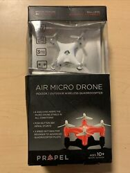 Propel Air Micro Mini Pocket Drone RC Micro Quadrocopter 3 Speed USB NEW $19.99