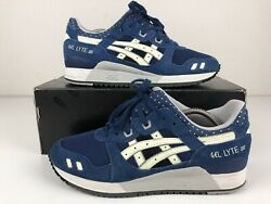 Asics Gel Lyte III Glow in the Dark Men#x27;s Size 10 Blue H438L Lyte 3 Good Cond. $84.00
