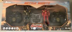 Riviera RC 3 CH Battle Robots with Gyro 2 Pack Black Red THE BETTER ONES $14.99
