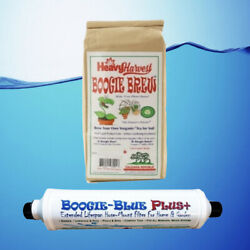 BOOGIE BREW COMPOST TEA 6 LB BOOGIE BLUE PLUS FILTER ECO GARDEN KIT MEDIUM * $120.95