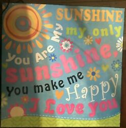 You Are My Sunshine Home Accent Wall Kitchen Art Decor $9.99