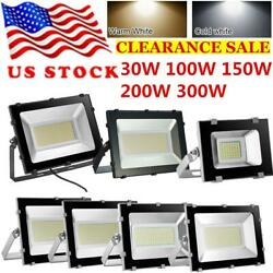 30W 300W Buckle LED Flood Light Outdoor Garden Arena Floodlight Security Lamp US $19.98