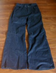 Vtg 1970s Levi#x27;s For Gals Corduroy Pants Bell Bottom Jeans High 26quot; Waist 26X31 $100.00